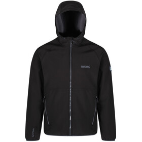 Regatta Arec II Softshell Jas Heren, black/seal grey